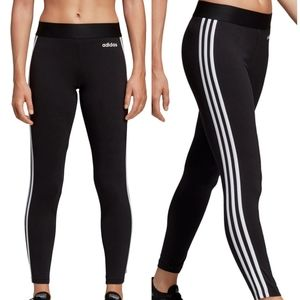Adidas 3 Stripe Regular Fit Tights